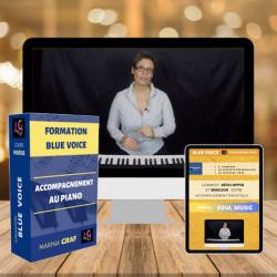 Couverture Blue voice FORMATION : ACCOMPAGNEMENT AU PIANO