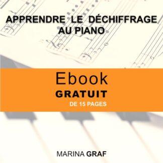 Couverture Apprendre le déchiffrage au piano