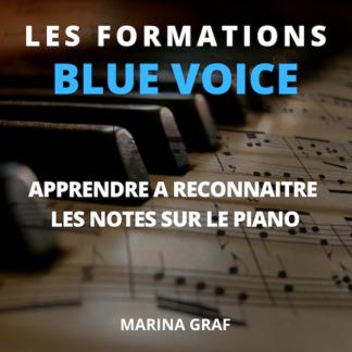 Couverture Apprendre à reconnaître les notes sur le piano
