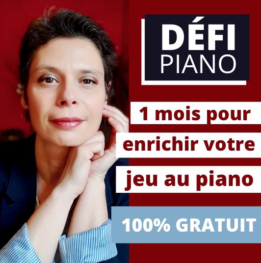 Couverture Mon défi piano